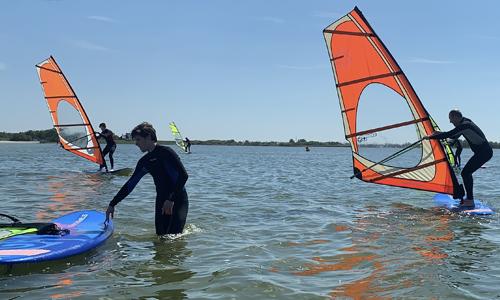 skyhigh windsurf lessen cursus windsurfen