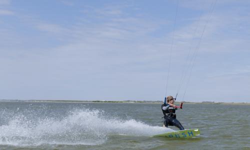 kitesurf opfris cursus les