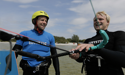 kitesurf introcutieles workum friesland cursus kitesurfen