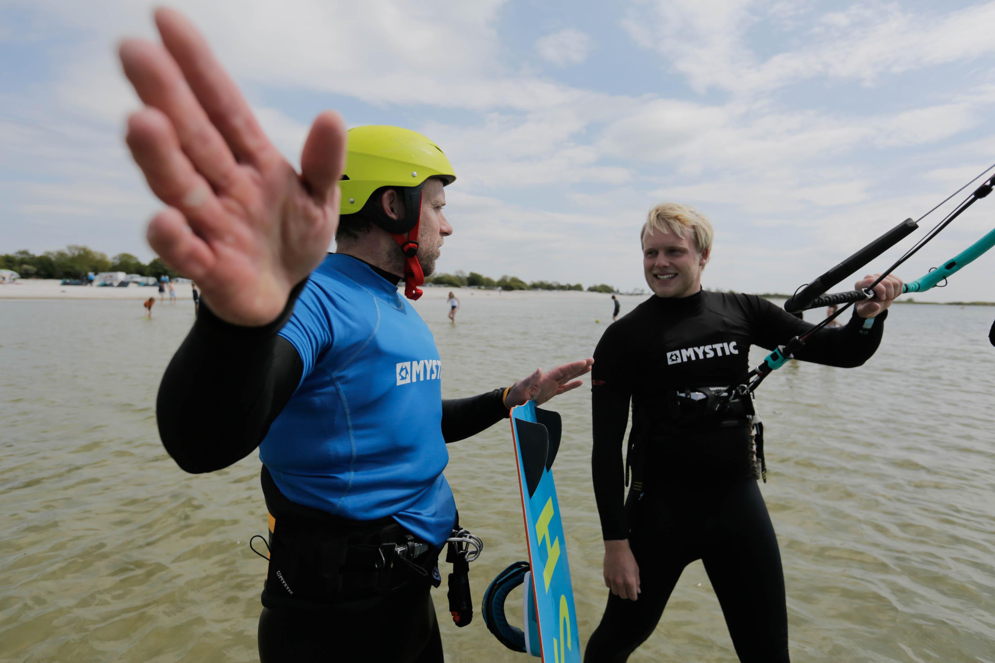 kitesurfles kitesurflessen workum surfshop
