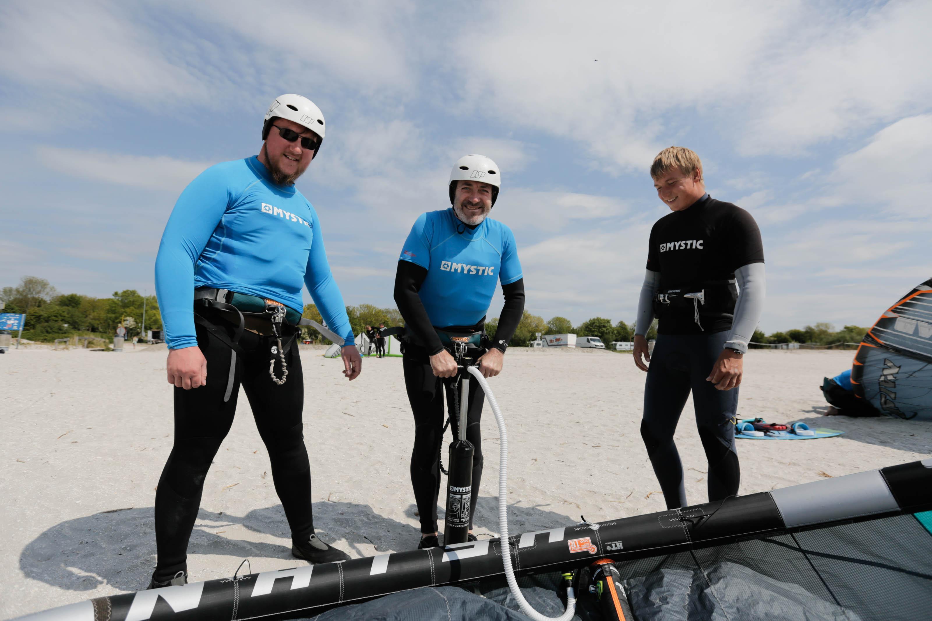 kitesurf introductie les