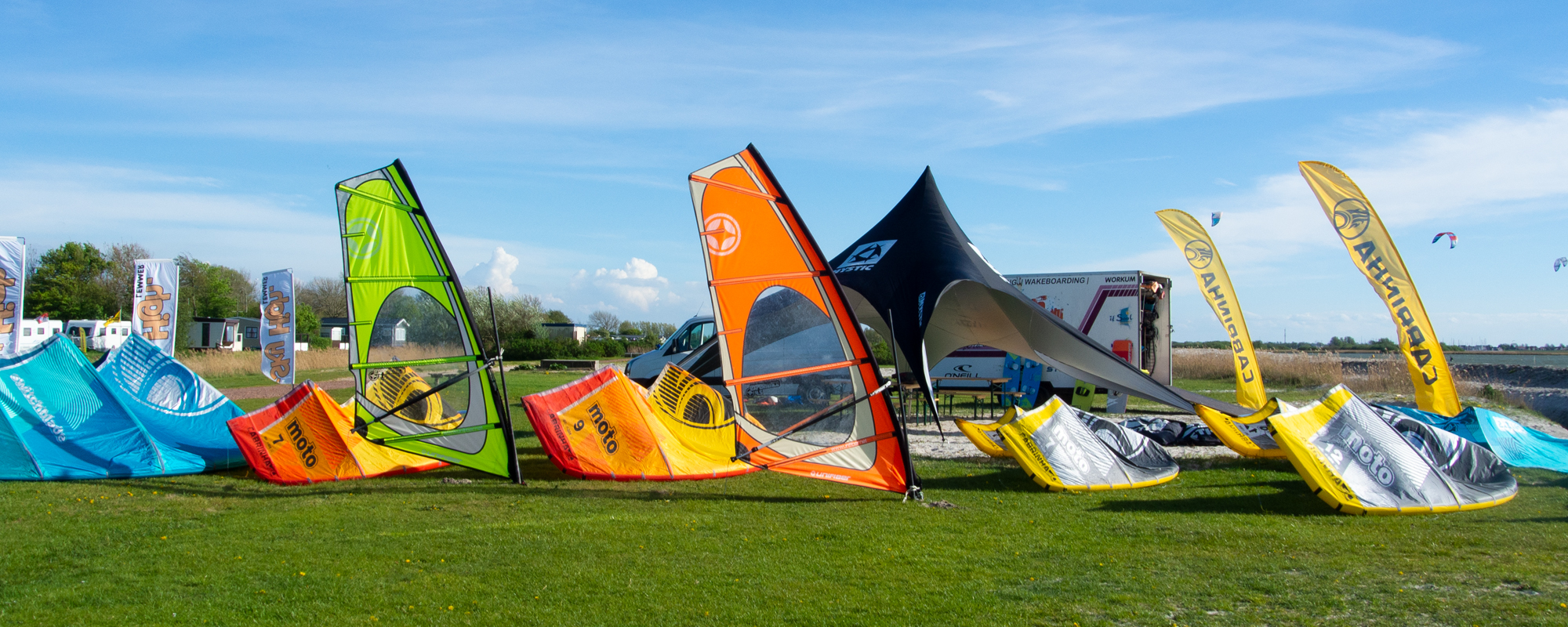Windsurf verhuur header