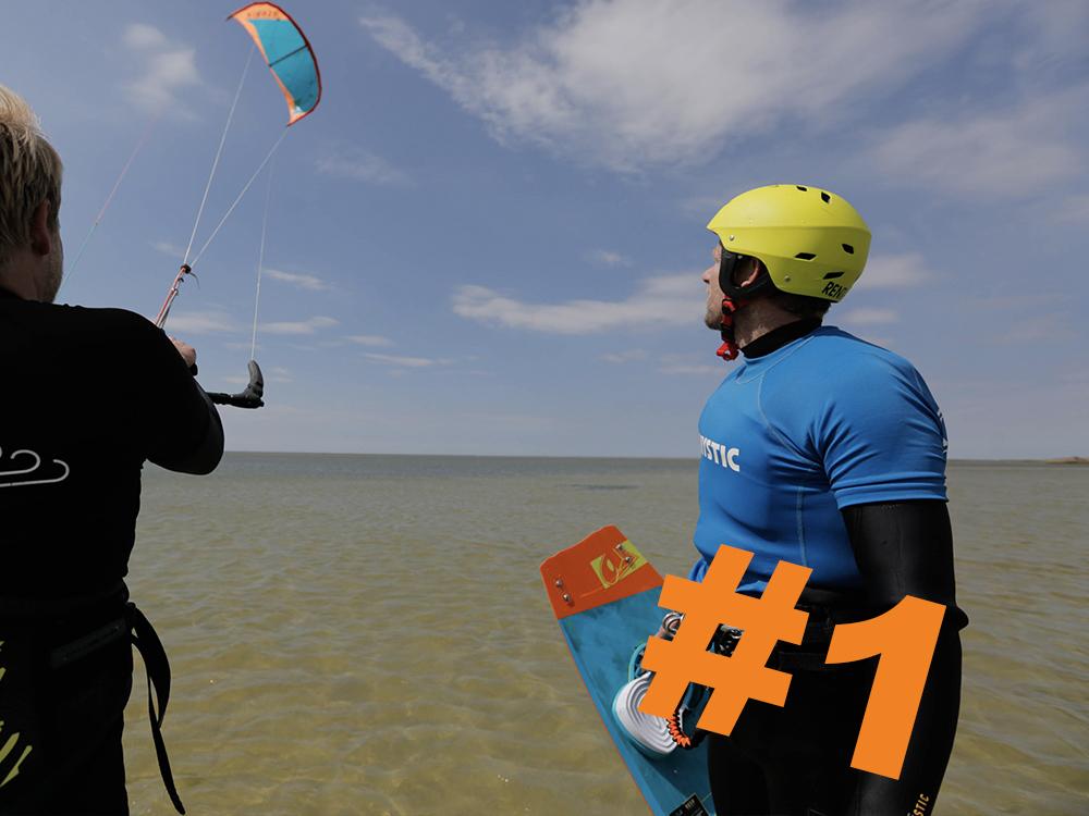 1. Kitesurfen