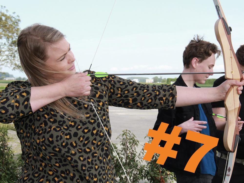 7. Boogschieten