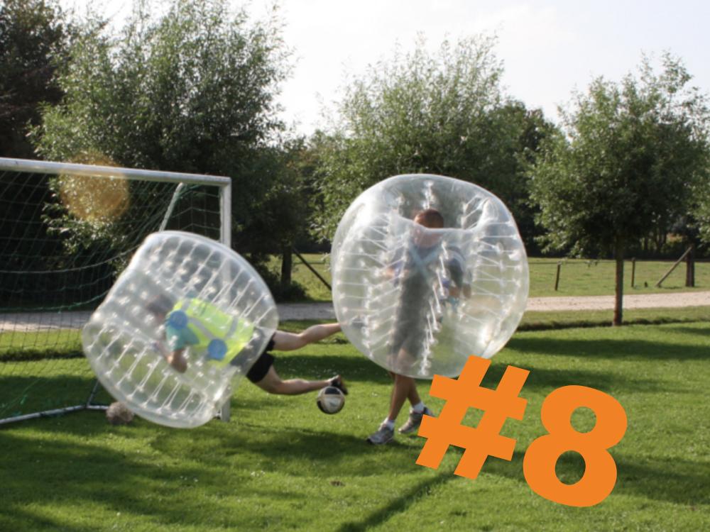 8. Bubbel footbal