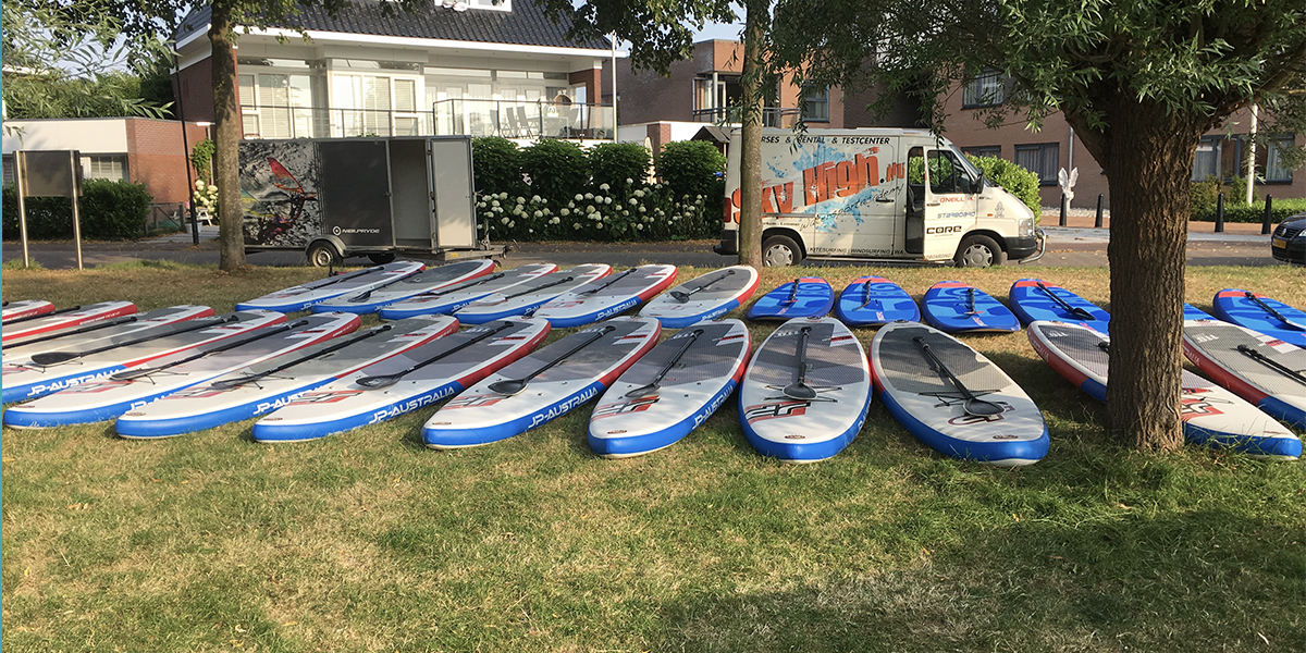 Skyhigh sup trailer verhuur